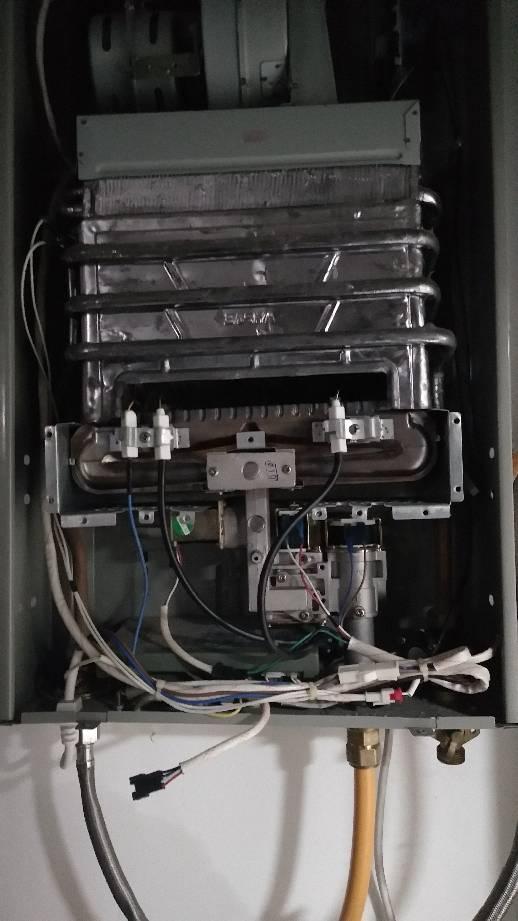 恒温热水器这三个感应针的作用是什么,为什么水调小可以打然火图片