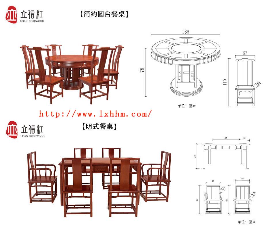 红木家具看样图,做的时候怎么知道尺寸的呀图片