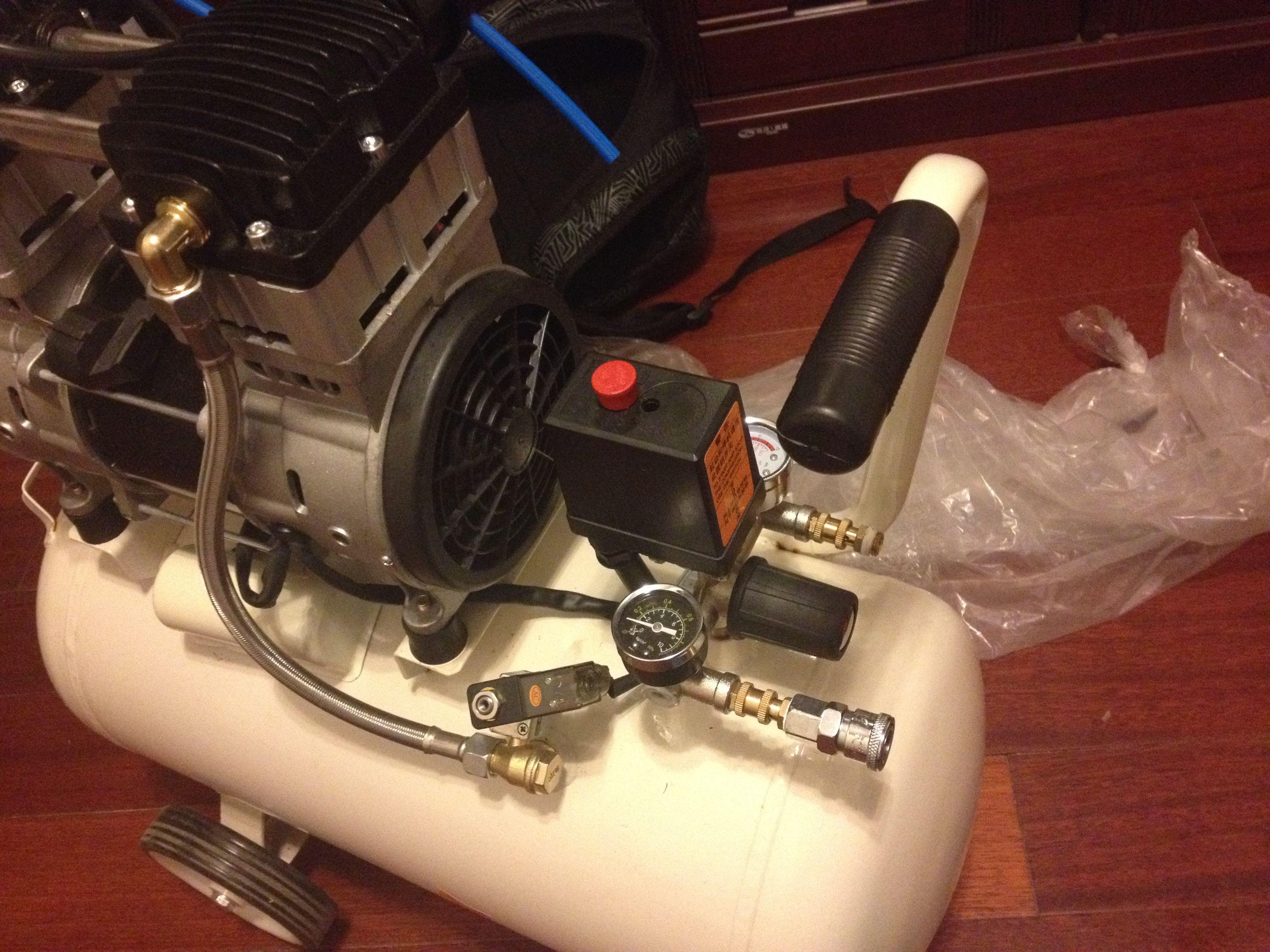 这种空压机开关通断压力如何调整?图片