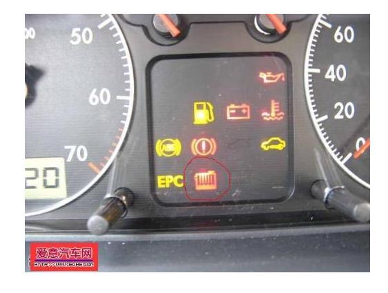普桑仪表盘故障图解 65 这个灯常亮代表啥? 这个灯常亮代表啥?