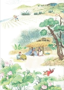 清平乐·村居的注释译文