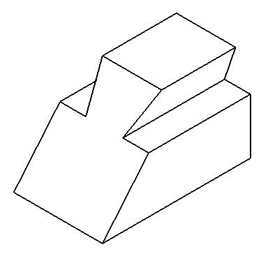 有人知道这个轴测图怎么画吗.