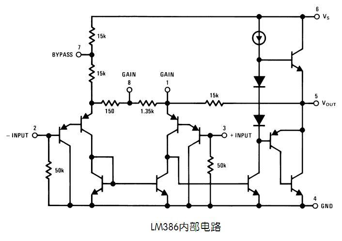 lm386能放大直流电压吗?