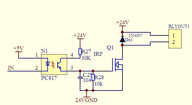 为什么还得放大电流呢?irf3205不是电压控制的吗?