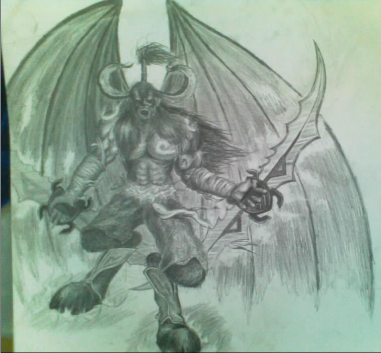 魔兽世界手绘