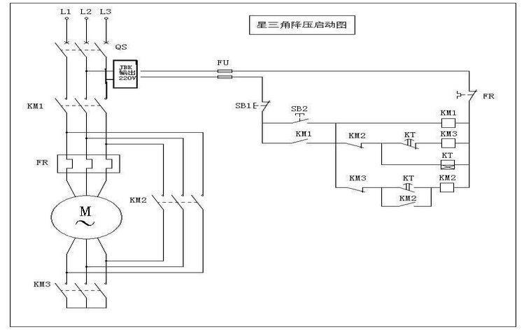一台冲床电机功率是11kw启动接通三相220v运行三秒(用
