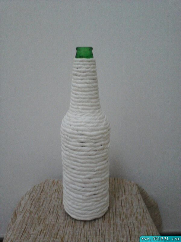 如何diy废旧物品手工制作花瓶方法图解