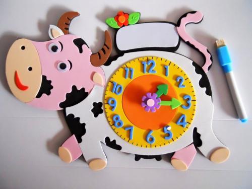 如何手工制作钟表?