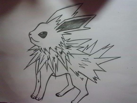神奇宝贝铅笔手绘图片,像这样的