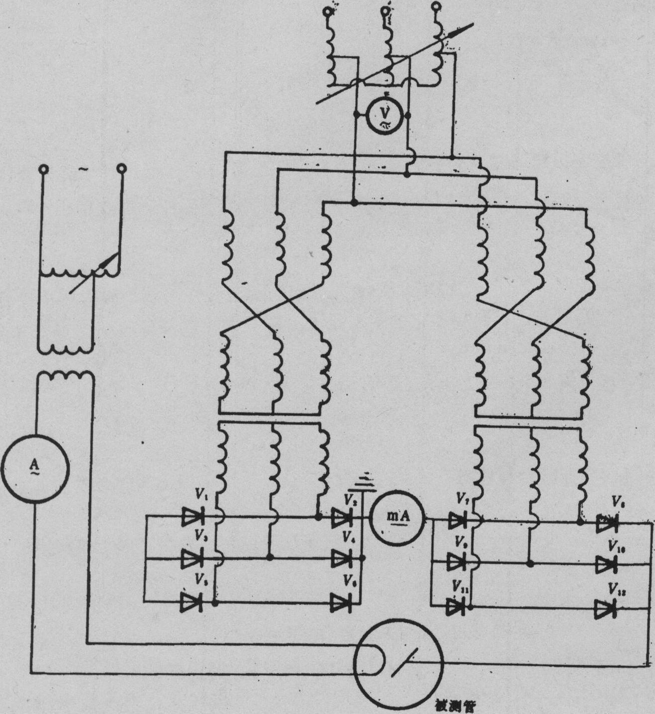 波电阻性负载整流电路:由于半导体二极管d的单向导电特性,只有当