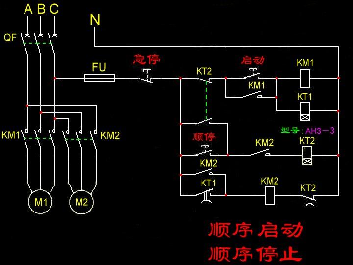 急求电气控制设计电路图!求大神!
