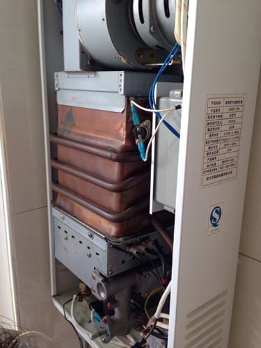 天然气热水器感应针在哪里?图片