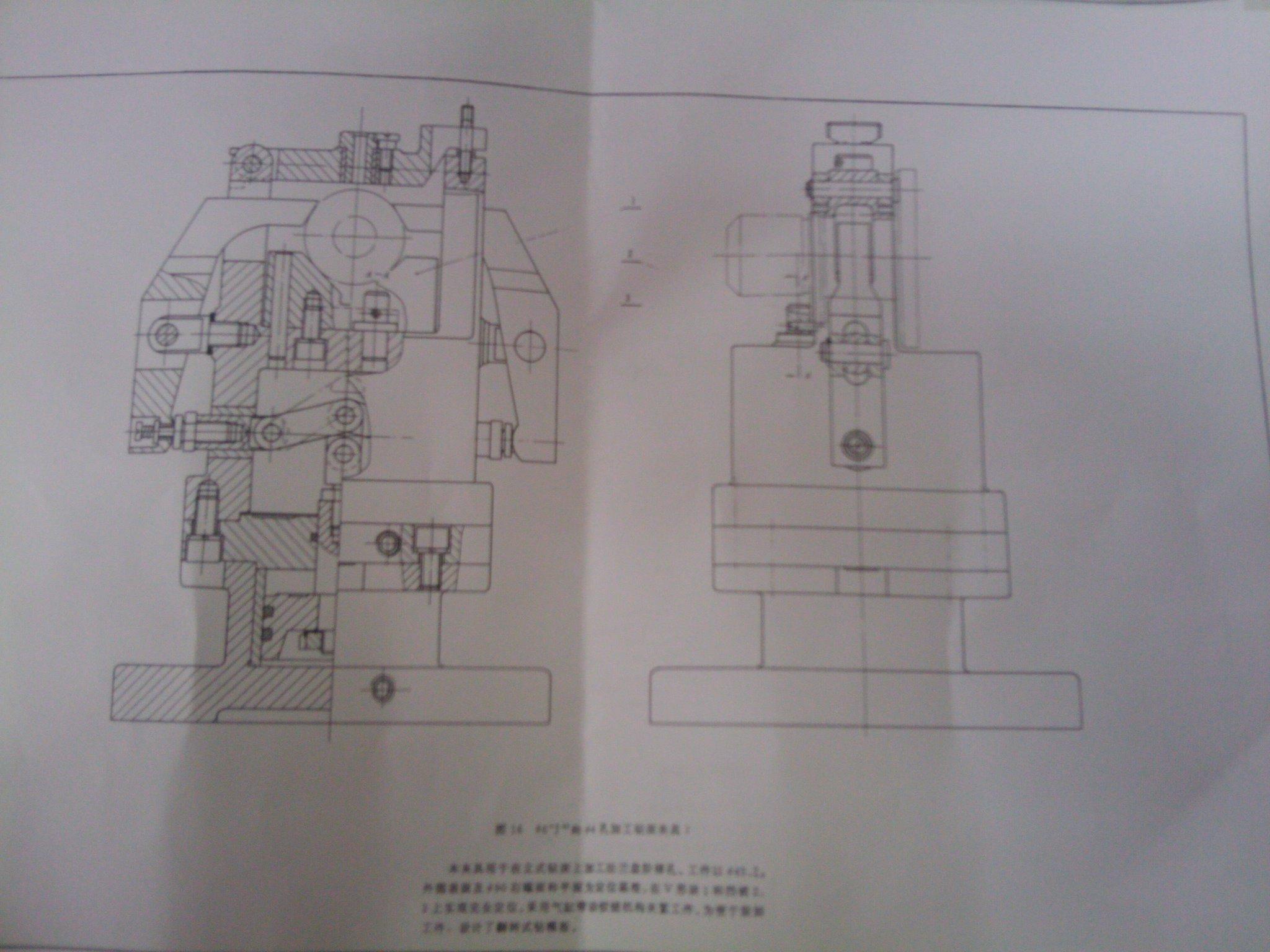 Φ4和Φ6孔加工钻床夹具Ⅰ的课程设计的夹具的cad图+零件图+装配图图片