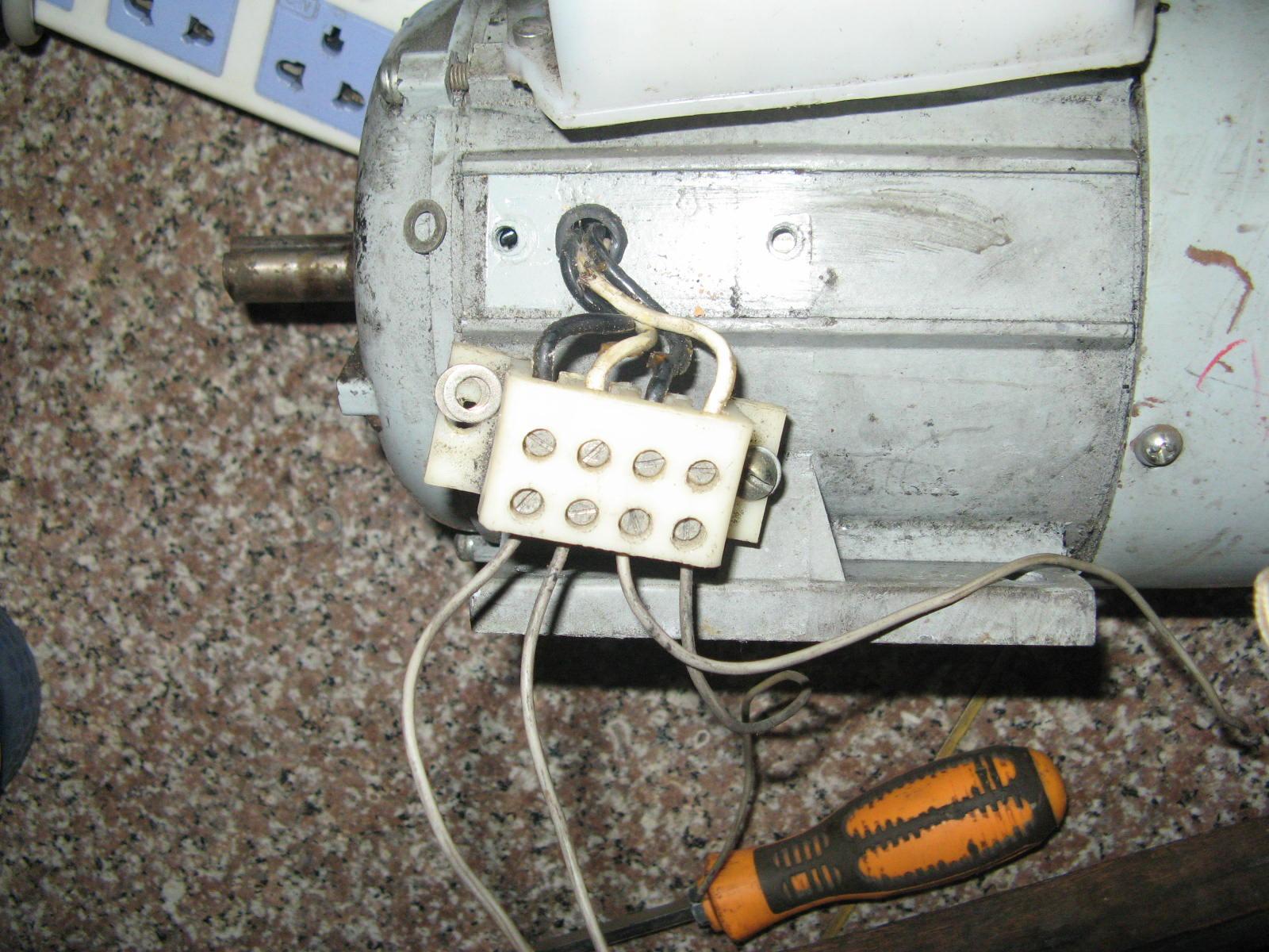 关于220伏电机的接线