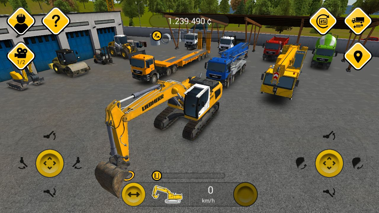 手机上哪里可以下载到真实的开挖掘机游戏