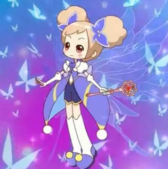 小花仙动画片里夏安安的图片