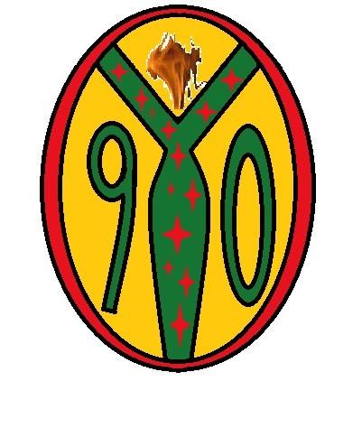 """我打算做个足球队队徽,队名""""90""""为中心来设计,因为我们都是90后,希望图片"""
