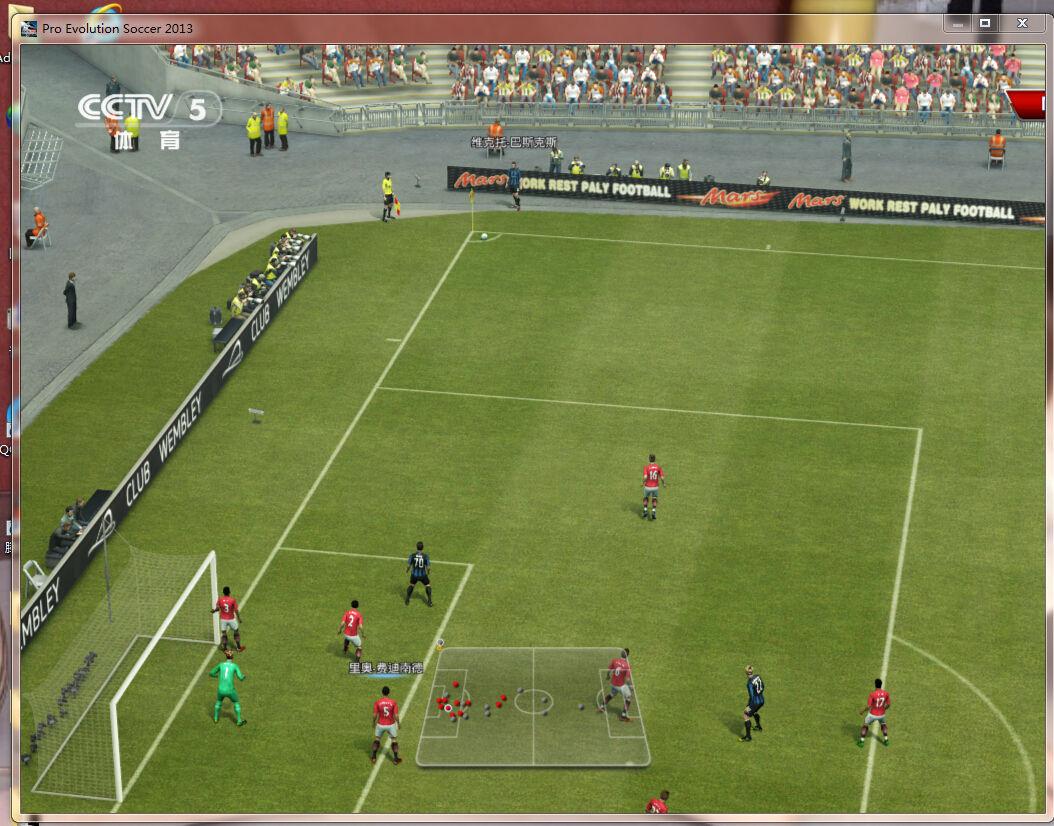 实况足球2013亚冠风暴比赛的时候不显示时间