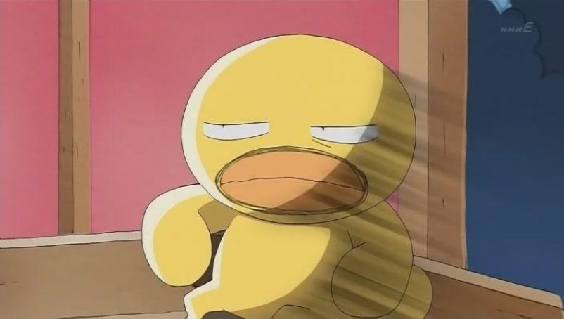日本动漫 一只小鸡 长了个大叔脸 求名字