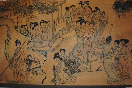 我有一幅杨寿平的百美图 和照片上一样的