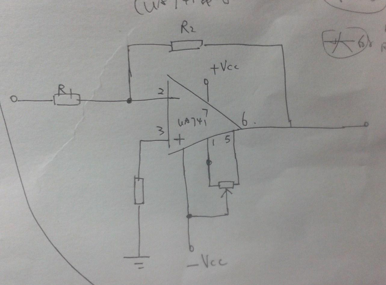 你应该功放用双电源,前置级用单电源.