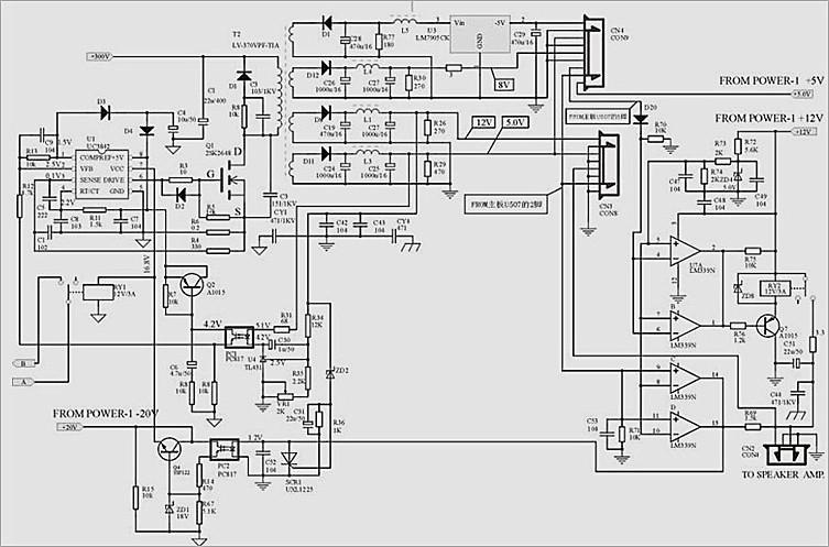 电路部分 严禁带电插拔电缆,信号源与投影机电源最好同时接地.