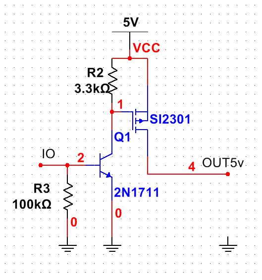 这个场效应管做开关的电路可行吗