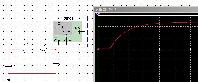 在rc与电源之间串联一个开关,用开关来控制电源的通断,以此给电路输入