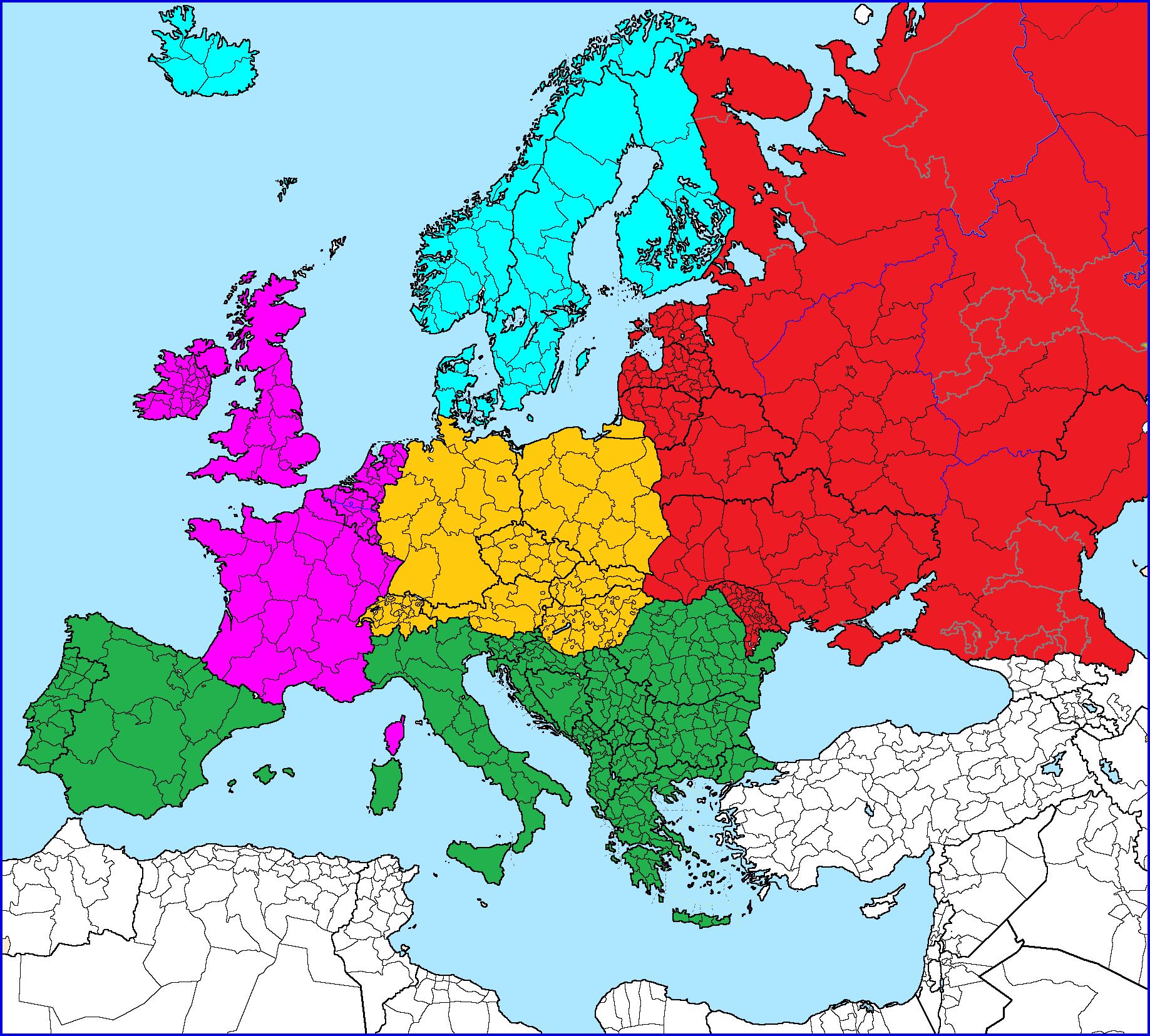 北欧都有哪四国