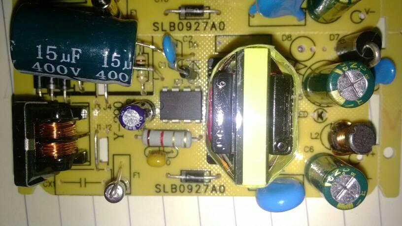 这电路板上都有什么元件求教