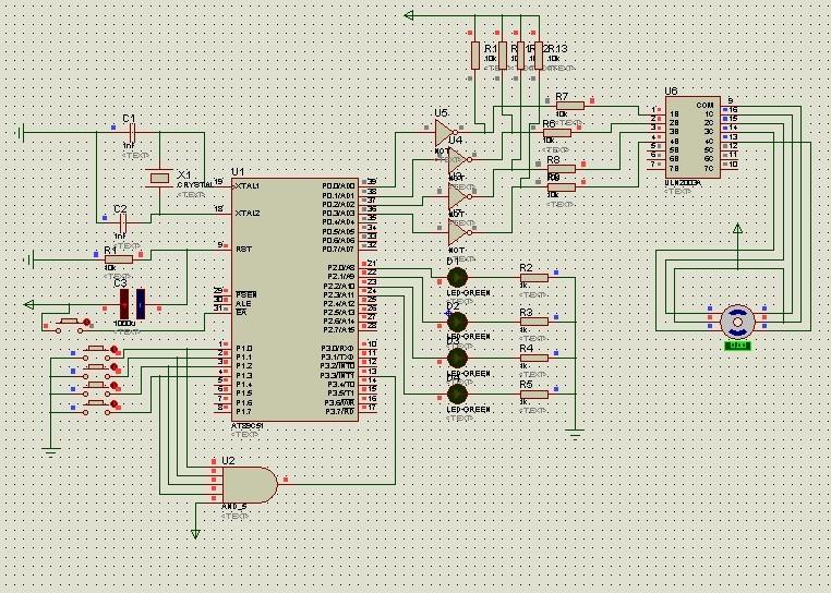 求51单片机控制步进电机程序
