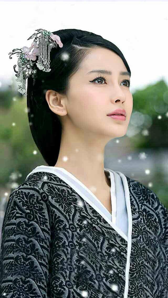 能给我杨颖漂亮的照片吗?