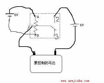 继电器电路中是不是要用到两个电源,共用一个的话是不