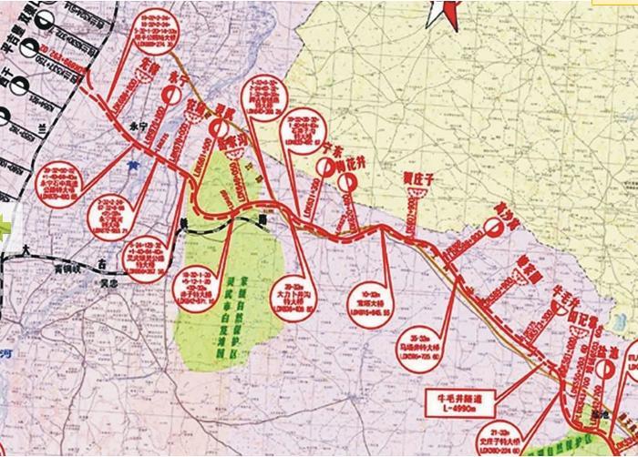 红寺堡未来城区规划图