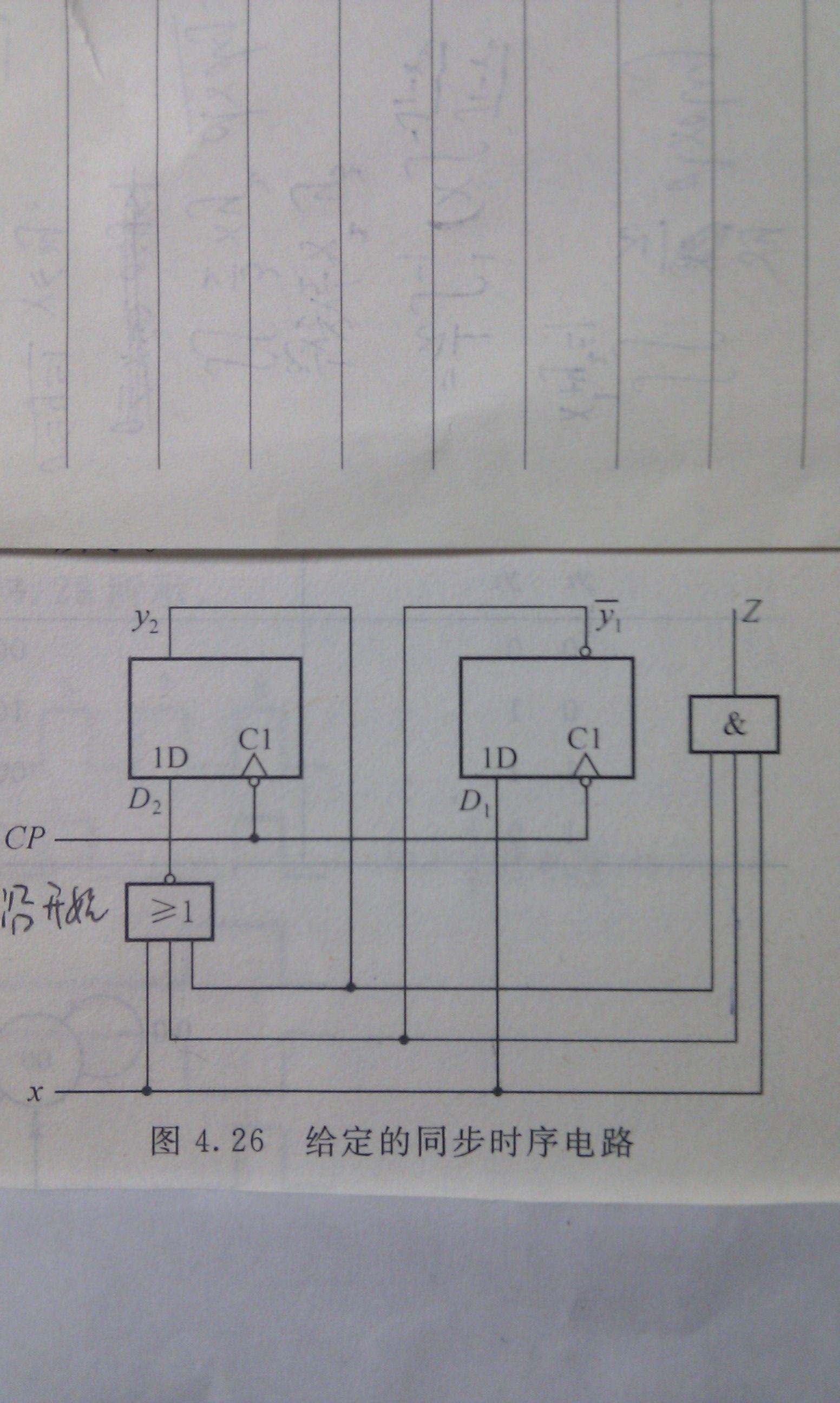数字逻辑中触发器画电路的状态响应时序图什么时候从下檐开始画什么