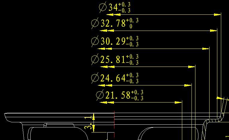 cad对中心线做a图纸建筑fc标注的图纸什么中代表图片