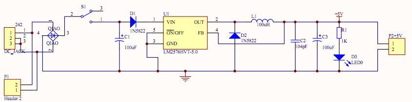 电源电路原理图求讲解