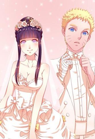 求鸣人与雏田结婚照的原图