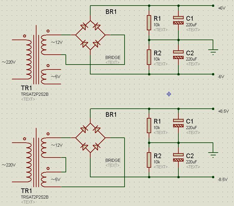 4558双电源供电做的混音电路,怎么改成单电源?