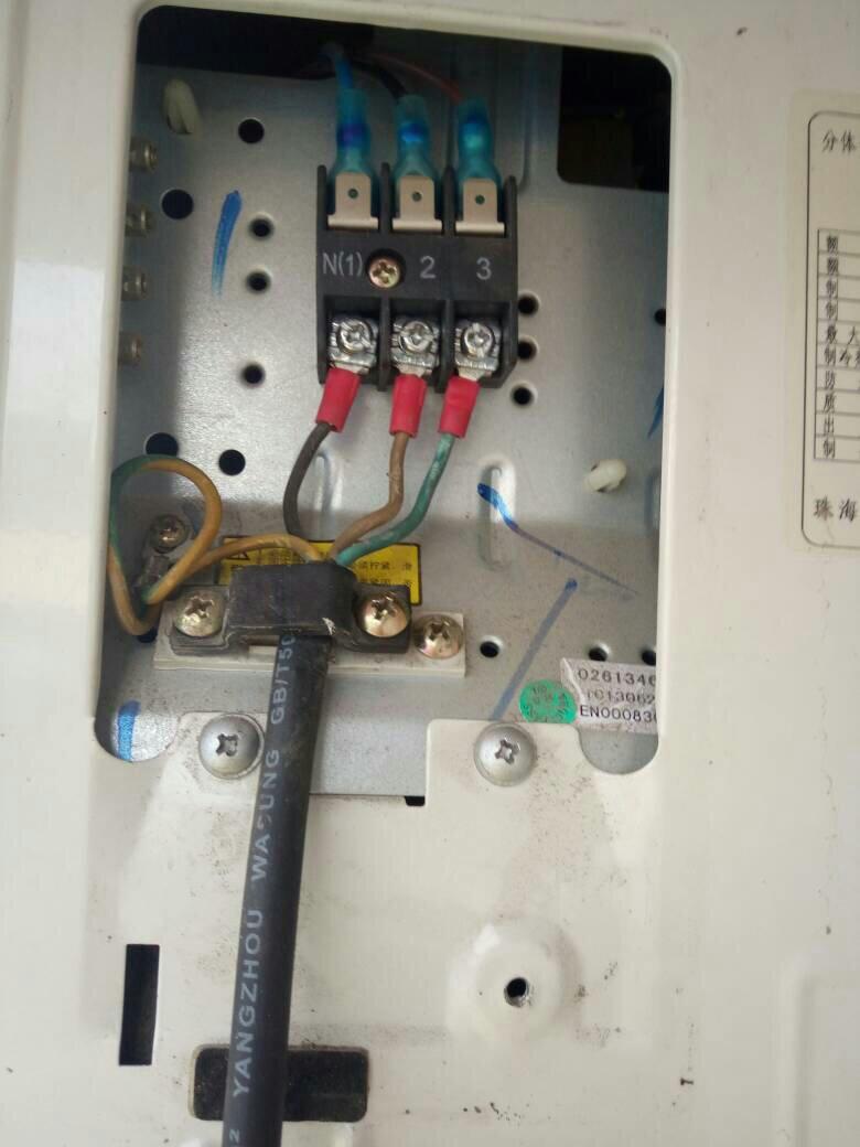 空调外机怎么接线线?