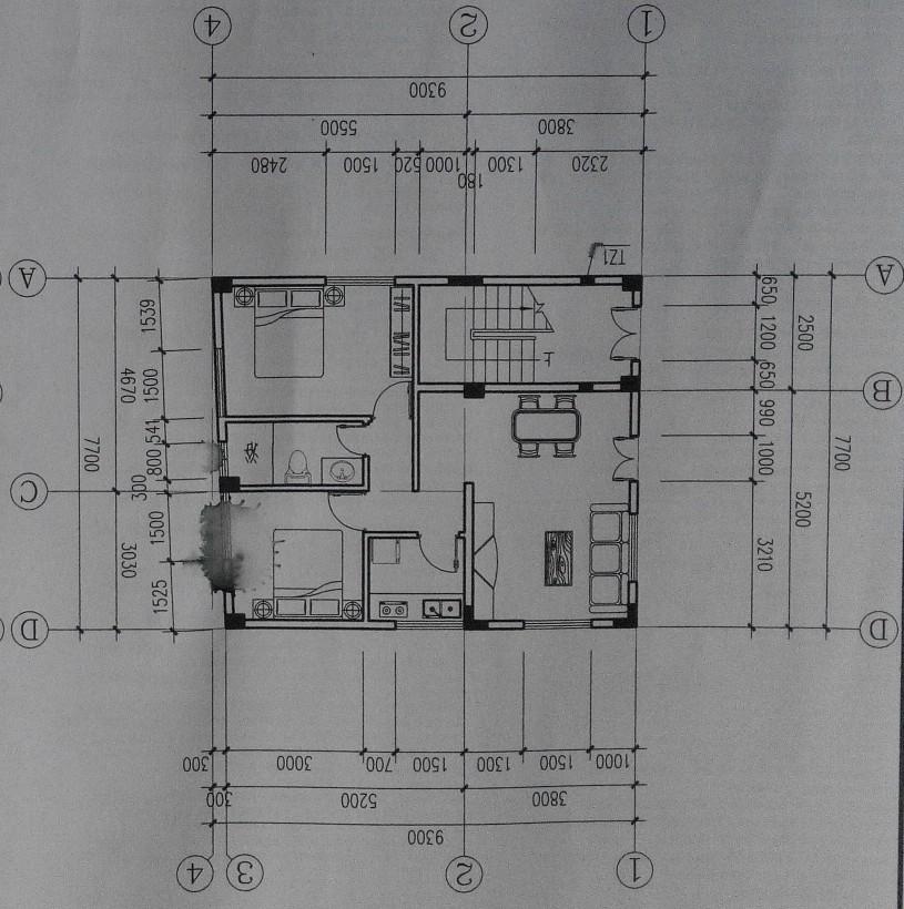 求70坪(70x100)三层自建房户型设计!