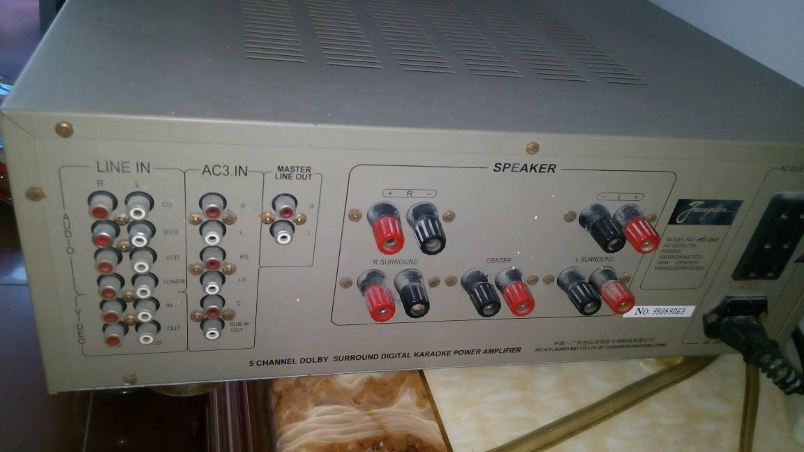 用功放机连接音箱和电视怎么连接