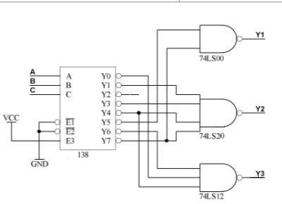 追问 74ls00  74ls12  74ls20是什么呀,是与电路吗?