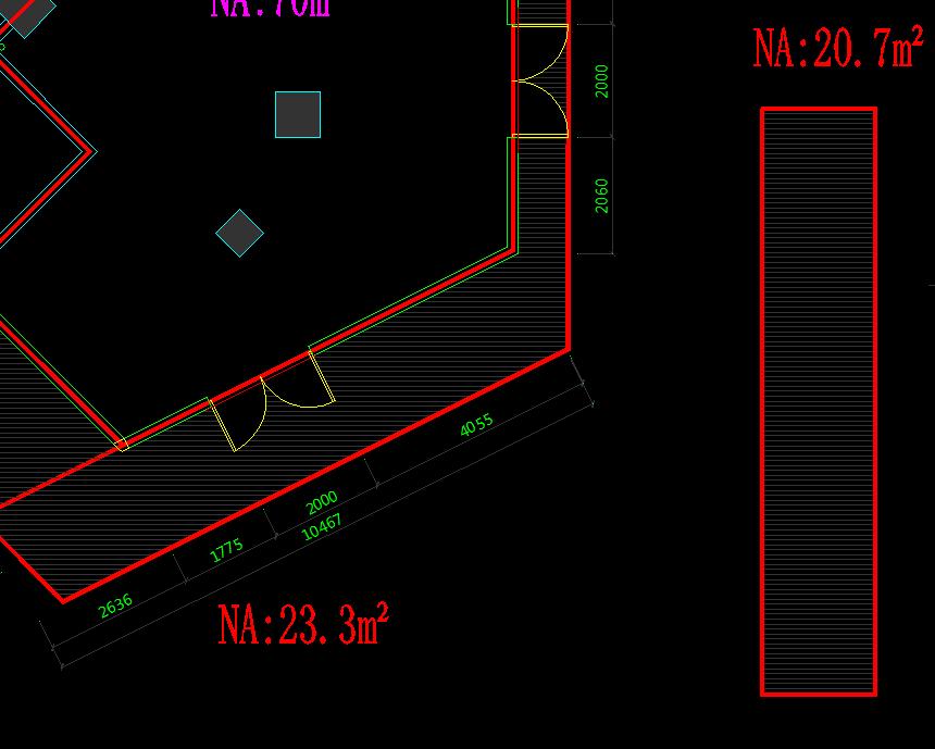 CAD施工图中的NA标点代表啊2007cadv标点坐意思怎么图片