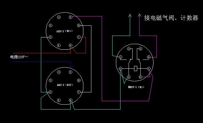 是自动的 只用时间继电器和电磁阀能不能实现