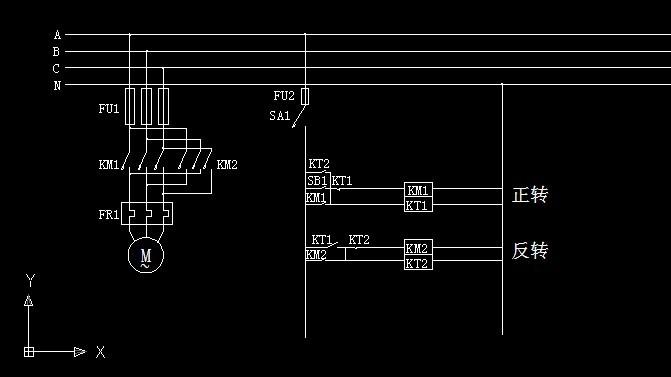 制作配电柜电路图