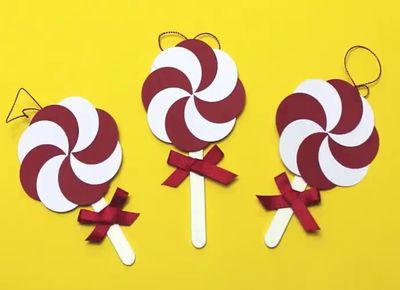 求卡纸手工制作棒棒糖的方法
