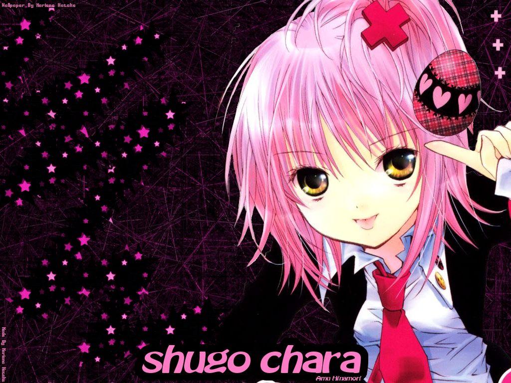 粉色短发的动漫人物是?