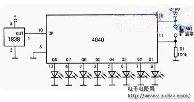 求一个红外发射与接收的电路分析