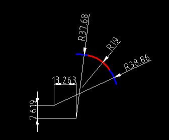 已知2个圆弧,用CAD圆相切增加命令,可v圆弧圆cad节点怎样相切图片